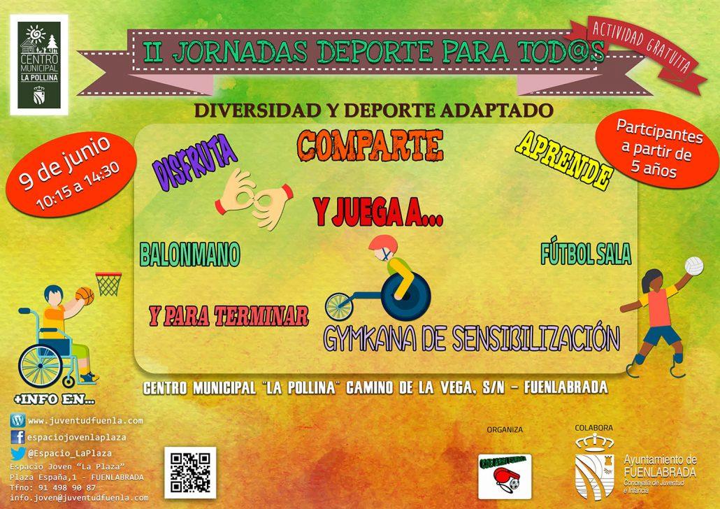 42425da29148 II Jornada Deporte para Tod@s en el C.M. La Pollina organizado por ...